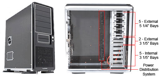 Carbon Fiber ATX Full Tower Case