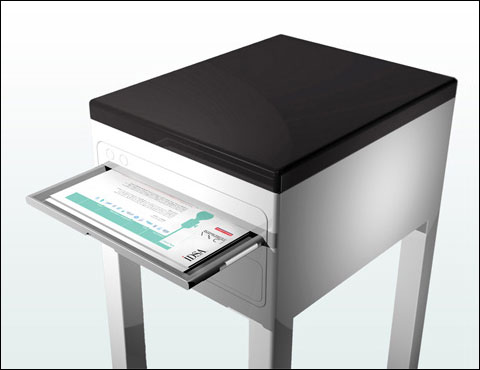 Printer Table Literally