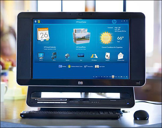 HP TouchSmart IQ775 Desktop PC