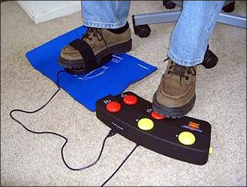 Foot Mouse with Programmable Pedal